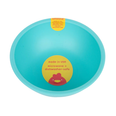 Lollaland, Mealtime Bowls - multiple colors, Cool Turquoise- Placewares