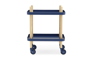 Normann Copenhagen, Block Table - multiple colors, Dark Blue- Placewares