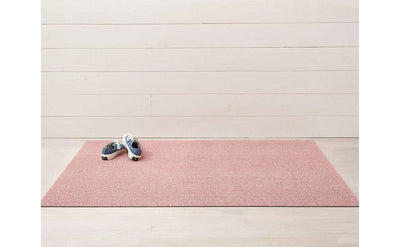Chilewich, Heathered Shag, Doormat - multiple colors, Blush- Placewares
