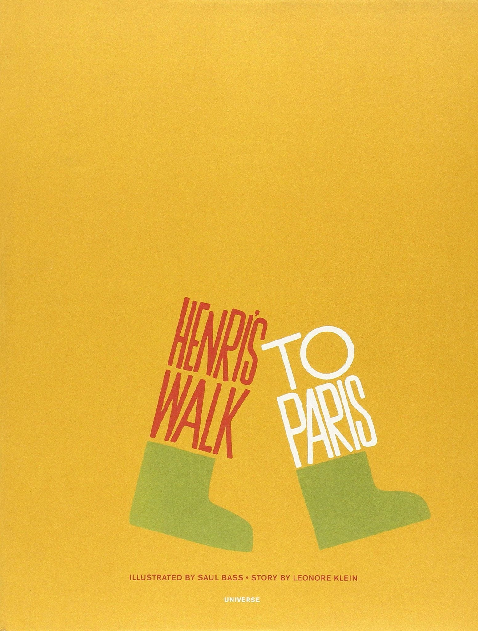 Rizzolli, Henri's Walk to Paris, - Placewares