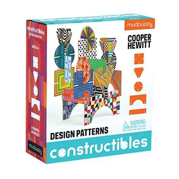 Chronicle Books, Cooper Hewitt Design Patterns Constructibles, - Placewares