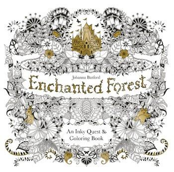 Penguin Random House, Enchanted Forest: An Inky Quest & Coloring Book, - Placewares