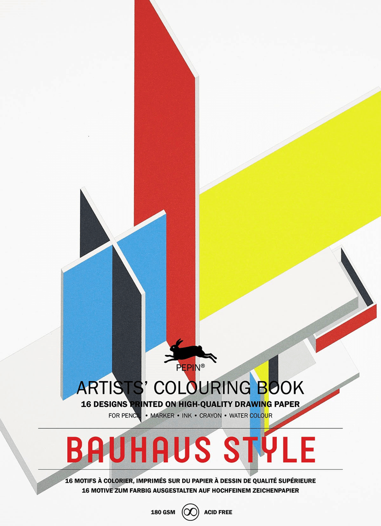 Pepin, Bauhaus Coloring Book, - Placewares