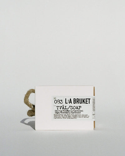 L:A Bruket, Rope Soap - Sage, Rosemary & Lavender, - Placewares