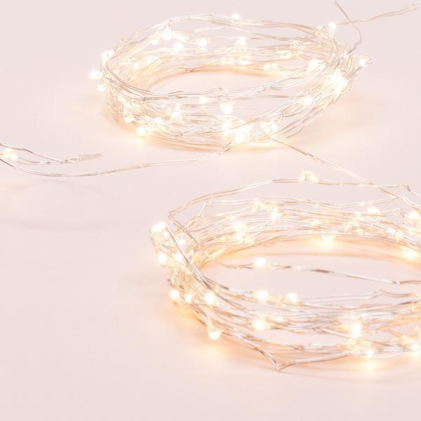 Kikkerland, Silver String Lights, - Placewares