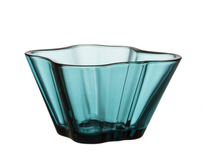 Iittala, Aalto Bowl, Sea Blue- Placewares