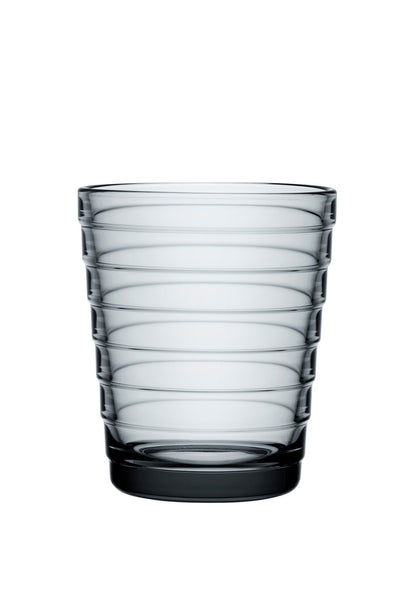 Iittala, Aino Tumbler,  Set of 2, Grey- Placewares