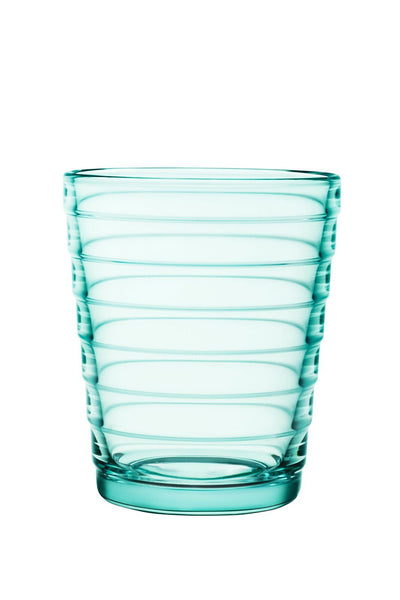Iittala, Aino Tumbler,  Set of 2, Water Green- Placewares