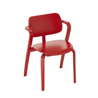 Artek, Aslak Chair, Red lacquered- Placewares