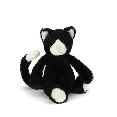 Jellycat, Bashful Black & White Cat, - Placewares