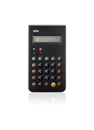 Braun, Braun Calculator, Black- Placewares