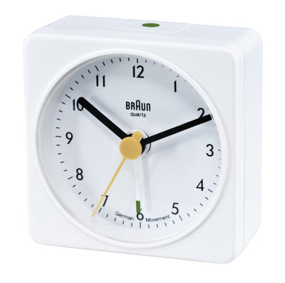 Braun, Braun Large Classic Alarm Clock Square - multiple colors, - Placewares