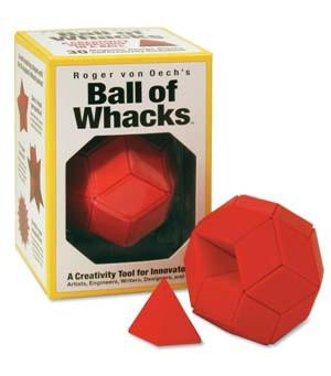 Creative Whack, Roger Von Oech's Ball of Whacks, - Placewares