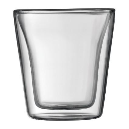Bodum, Canteen Double Wall Glasses, 6/set, 13.5 oz.- Placewares