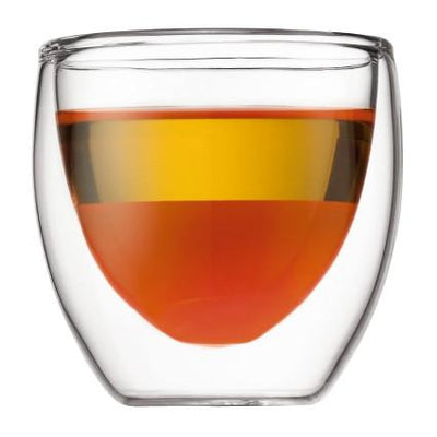 Bodum, Pavina Double Wall Glasses, 2/set - assorted sizes, 2.5 oz.- Placewares