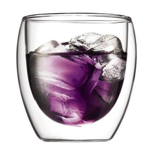 Bodum, Pavina double wall glasses, 2 pieces, 8 oz.- Placewares