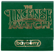 The Incense Match, Incense Matches, 30/Book, Bayberry- Placewares