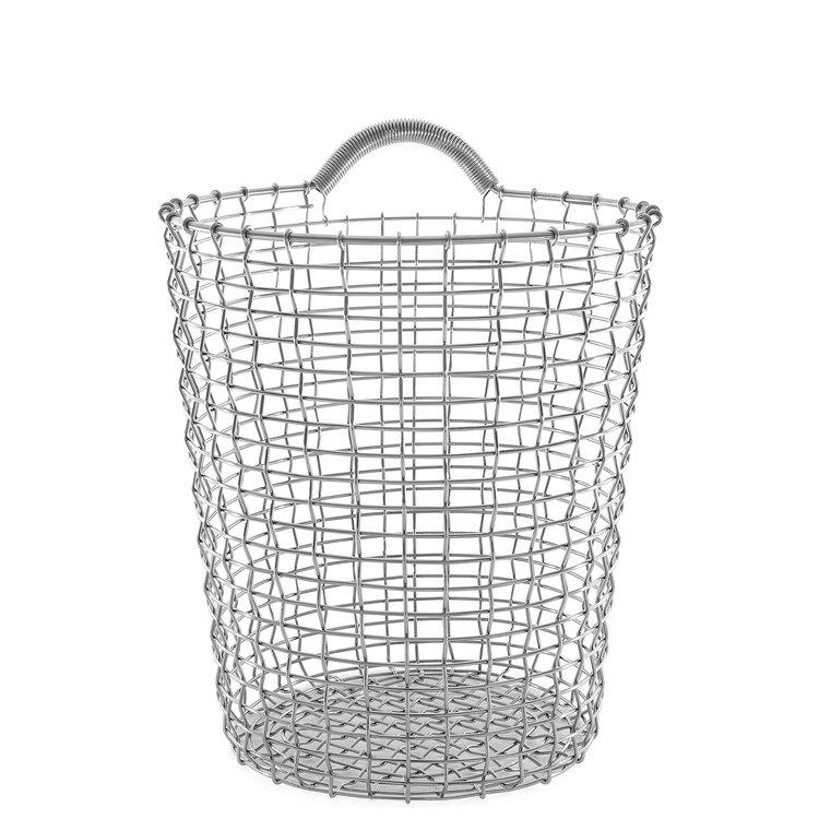 Korbo, Korbo Bin 18 Stainless Steel Basket, - Placewares