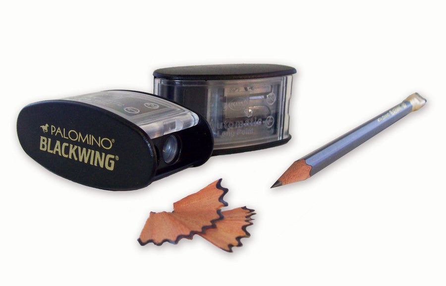 Blackwing, Long Point Pencil Sharpener - multiple colors, Black- Placewares