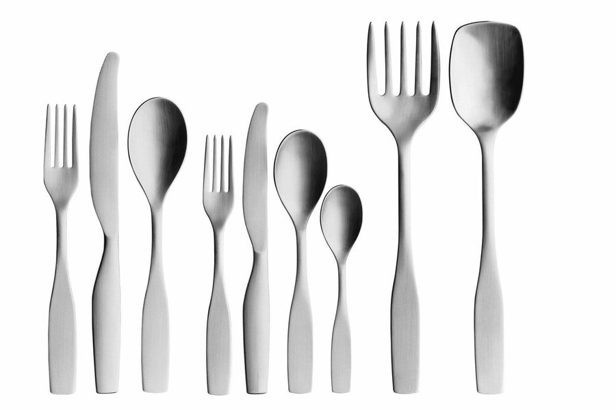 Iittala, Citterio 98 Dessert Spoon, Brushed Stainless Steel- Placewares