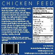 Lucy's Granola, Chicken Feed Snack, - Placewares
