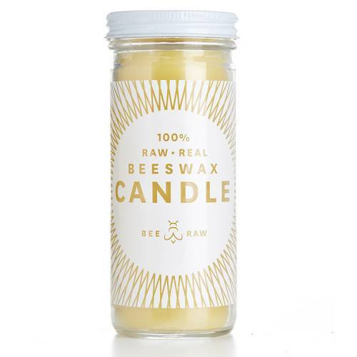Bee Raw, Citronella Beeswax Candle, 7 oz- Placewares
