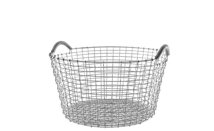 Korbo, Korbo Classic 35 Stainless Steel Basket, - Placewares