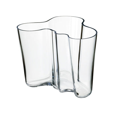 Iittala, Alvar Aalto Collection Vase, 6.25 in - multiple colors, Clear- Placewares