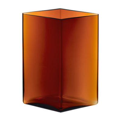 Iittala, Ruutu Vase, 8.25 x 10.75 in - multiple colors, Copper- Placewares