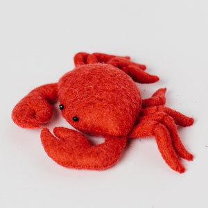 Craftspring, Crab Shanty Red Ornament, - Placewares
