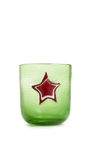 Design Memorabilia, Red Star Glass, - Placewares
