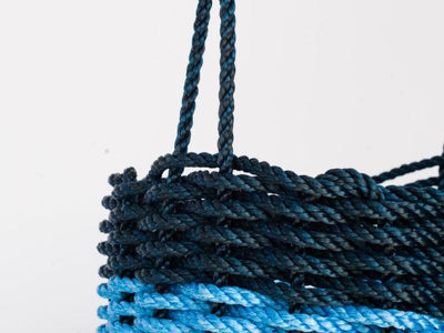 The Rope Co., Navy & Blue Bin, - Placewares