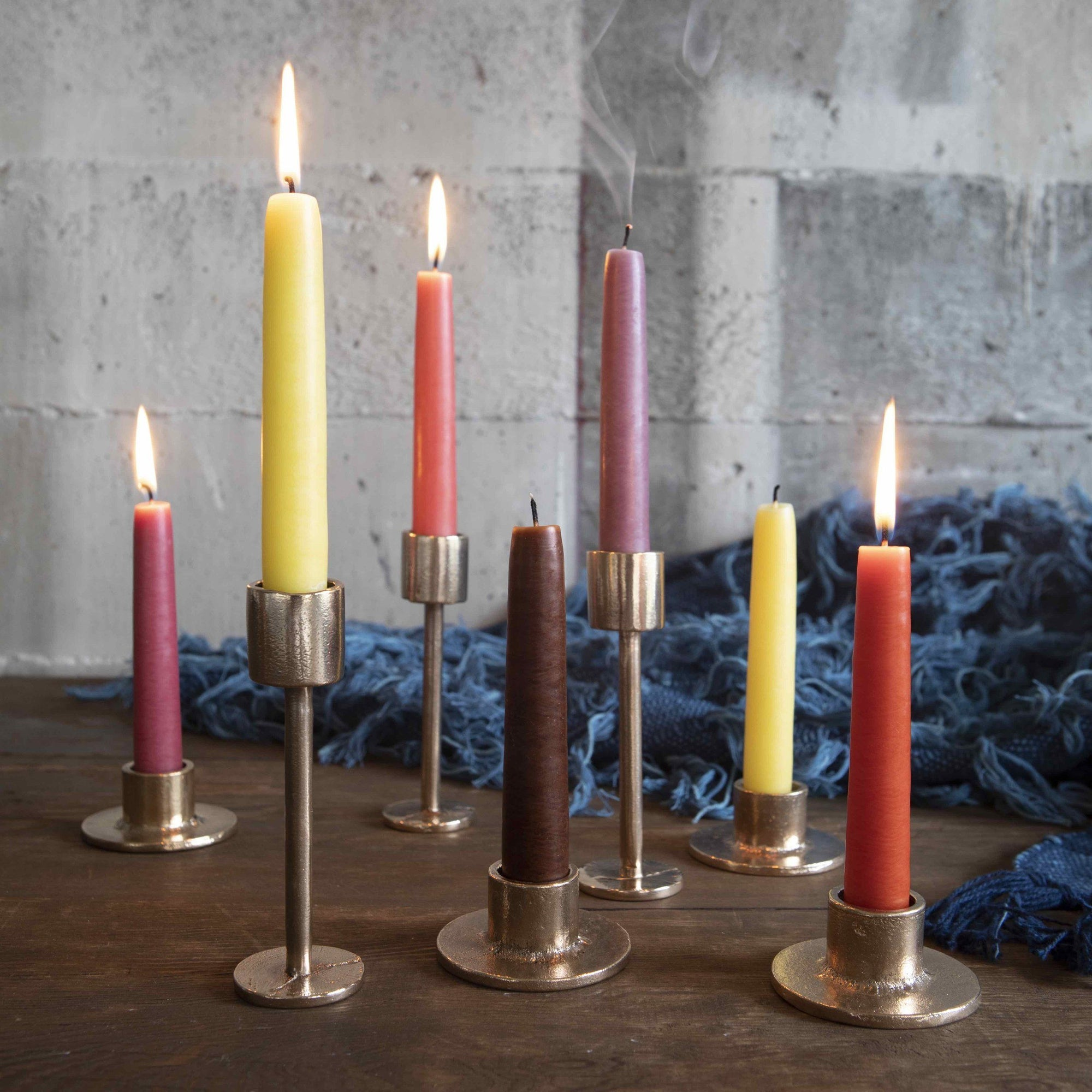 ALL ROADS, All Roads Taper Candles, Pair, - Placewares