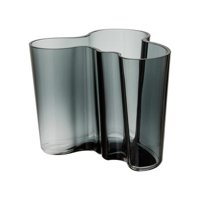Iittala, Alvar Aalto Collection Vase, 6.25 in - multiple colors, Dark Grey- Placewares