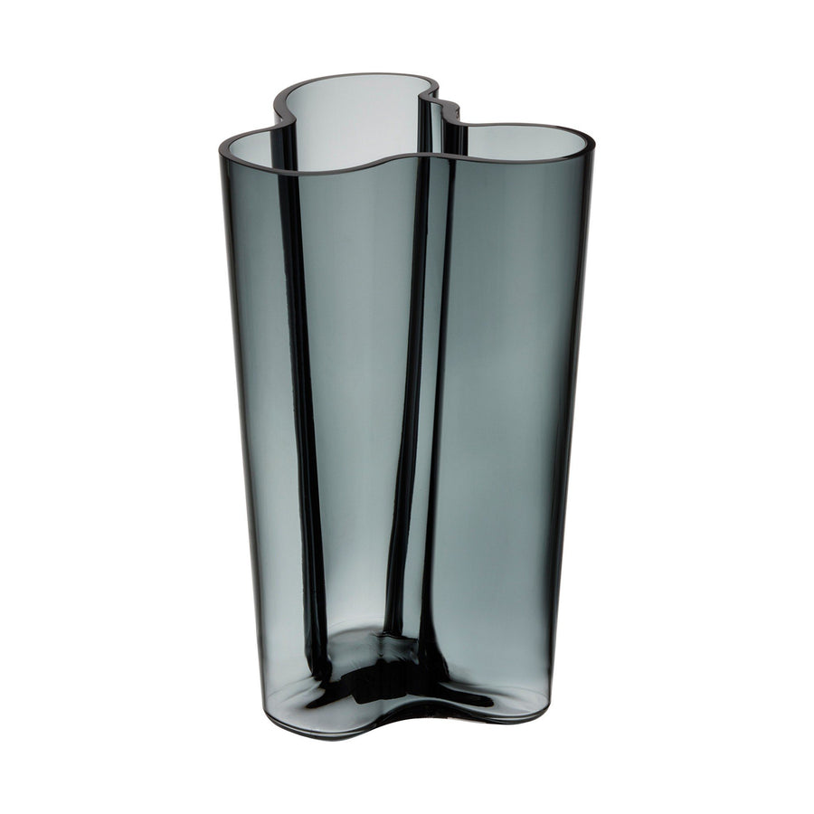 Iittala, Alvar Aalto Collection Finlandia Vase, 10 in - multiple colors, Clear- Placewares