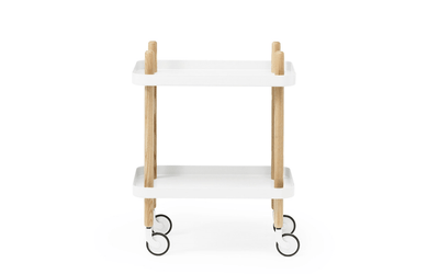 Normann Copenhagen, Block Table - multiple colors, White- Placewares