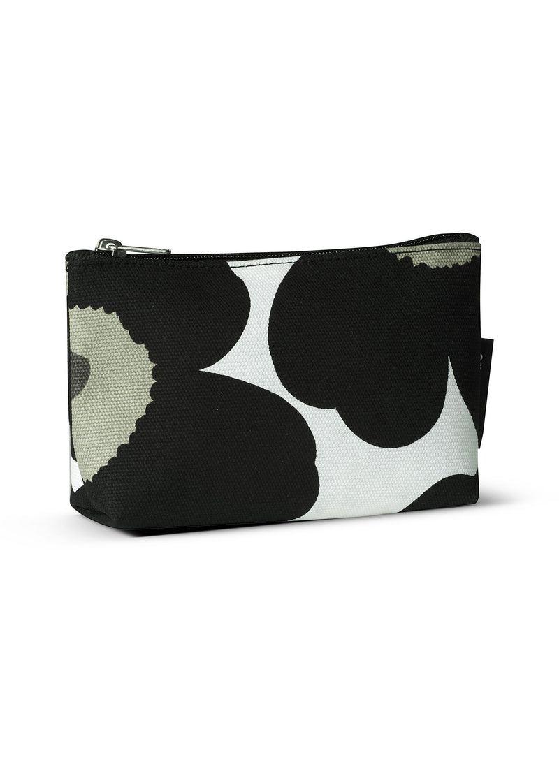 Marimekko, Eevi Pieni Unikko Cosmetic Bag, White/Black- Placewares