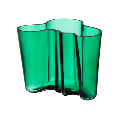 Iittala, Alvar Aalto Collection Vase, 6.25 in - multiple colors, Emerald- Placewares