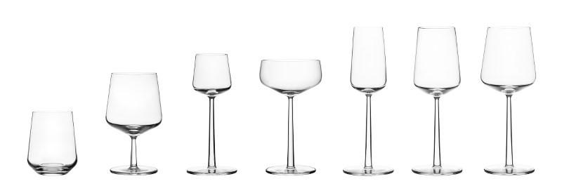 Iittala, Essence Sherry, Set/2- Placewares