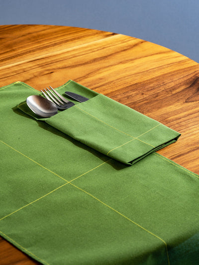 Fruitsuper, Everyday Napkins (Set of 4) - multiple colors, Olive Green/Yellow- Placewares