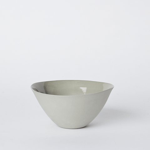 Mud Australia, Flared Bowl Medium, Milk- Placewares