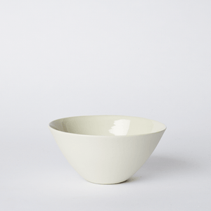 Mud Australia, Flared Bowl, Medium, Milk- Placewares