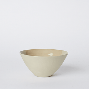 Mud Australia, Flared Bowl, Medium, Sand- Placewares