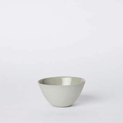 Mud Australia, Flared Bowl, Small, Ash- Placewares