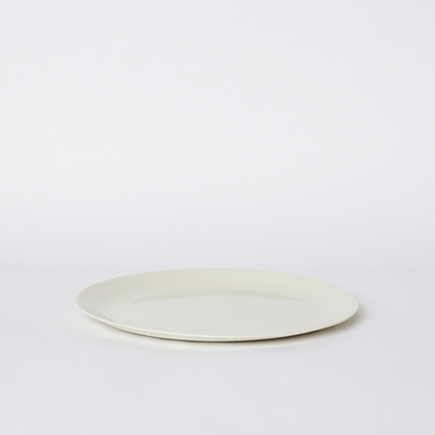 Mud Australia, Flared Plate Dinner, Milk- Placewares