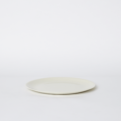 Mud Australia, Flared Plate Small Plate, Milk- Placewares