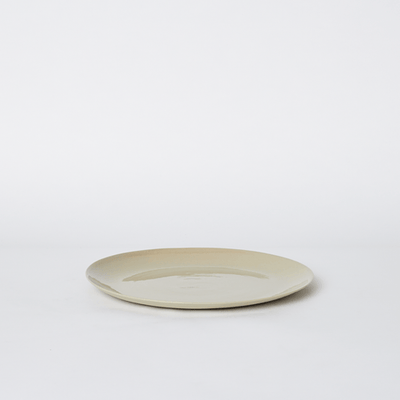 Mud Australia, Flared Plate Small Plate, Sand- Placewares