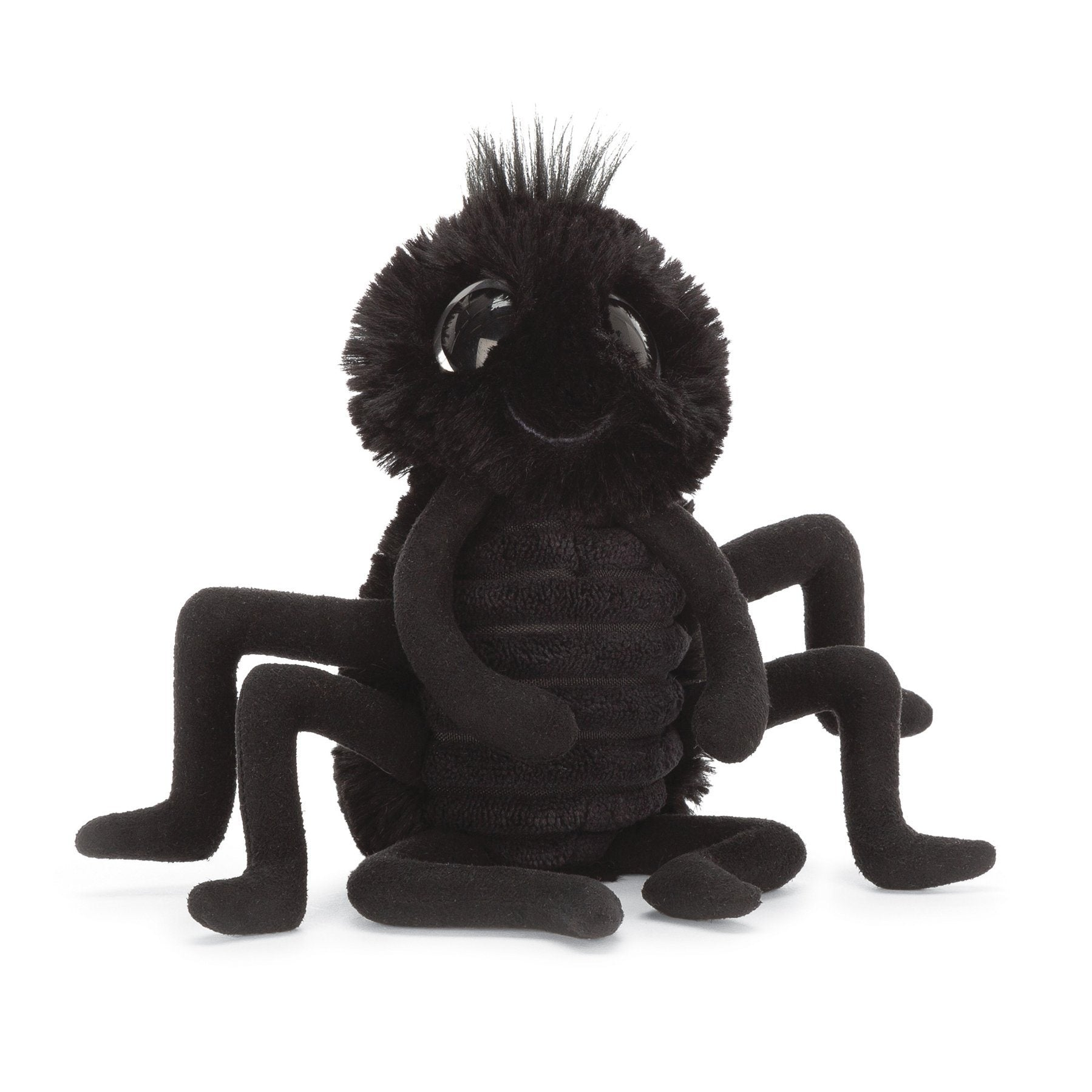 Jellycat, Black Spider, - Placewares