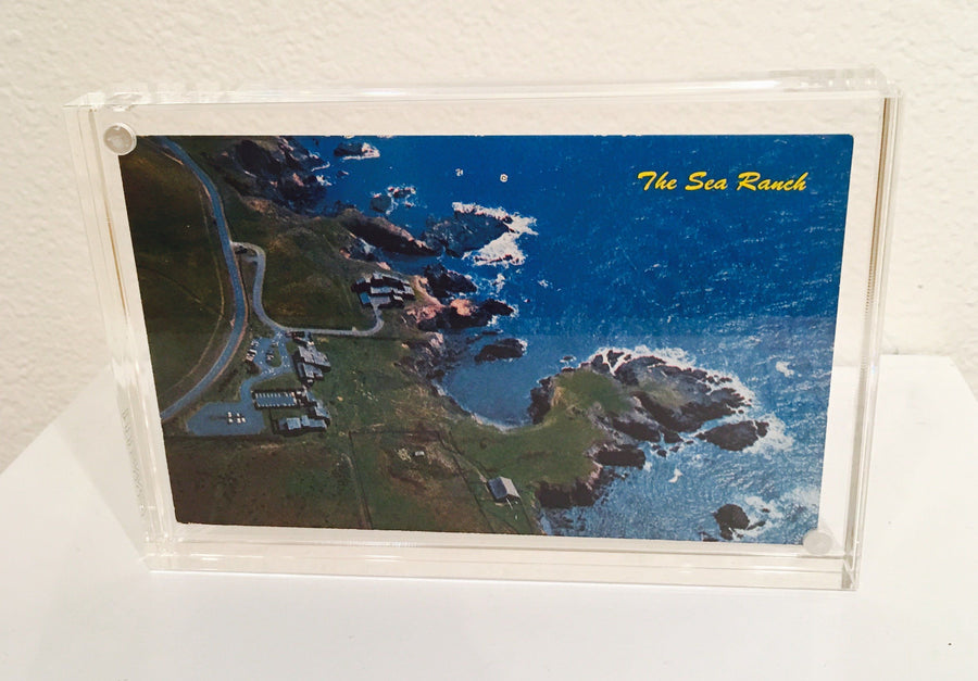 Vintage @ Placewares, The Sea Ranch Vintage Postcard, - Placewares