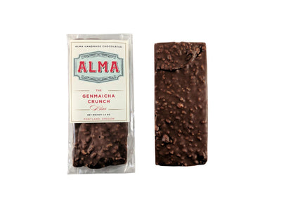 Alma, Genmaicha Crunch Bar, - Placewares
